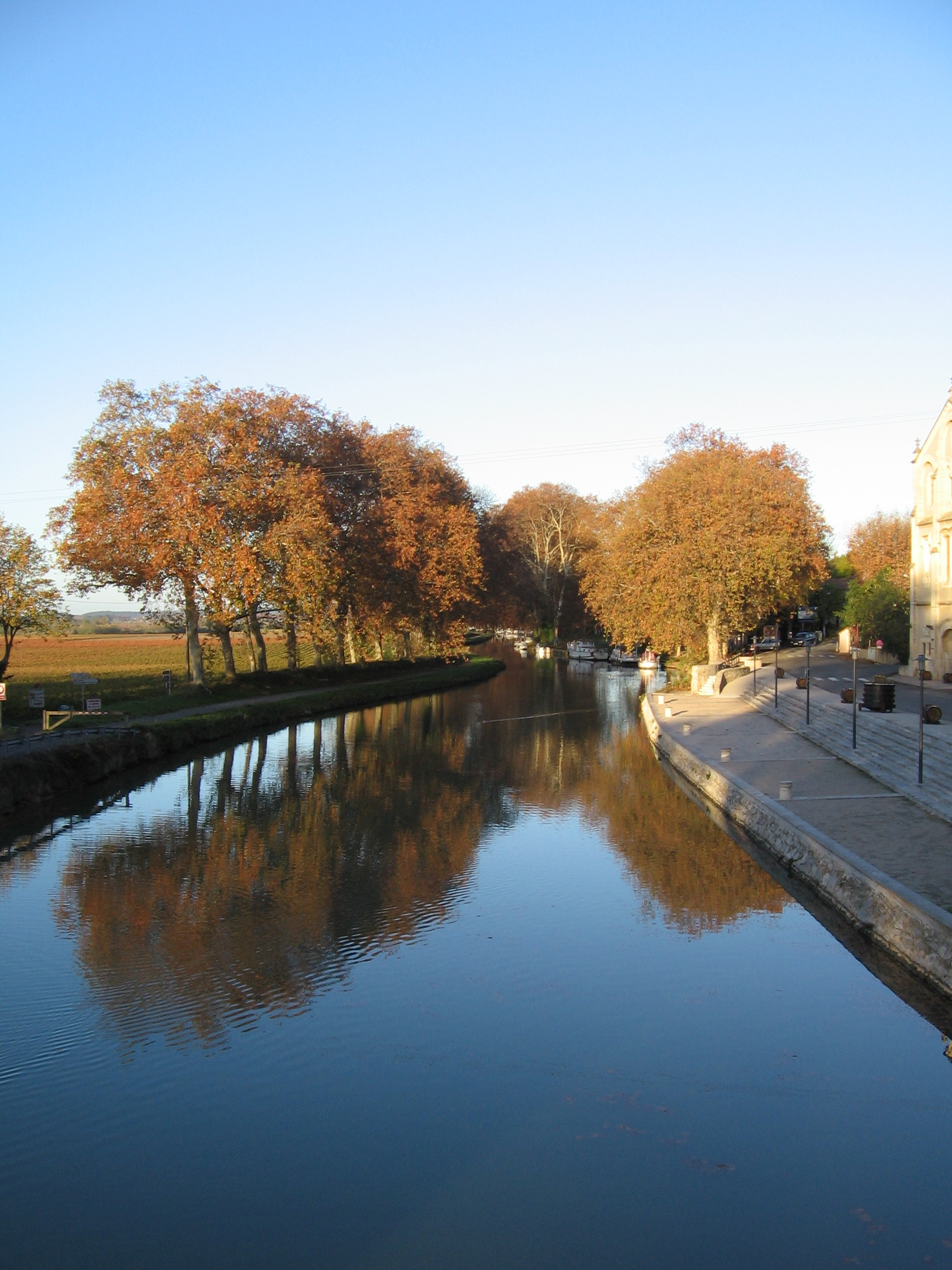 I arrived in Narbonne via ...